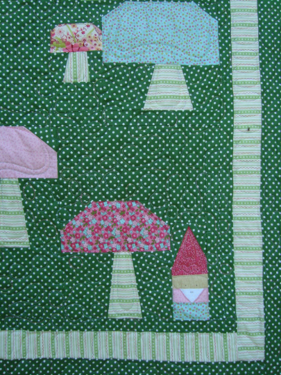 Gnome Meadows Quilt Pattern