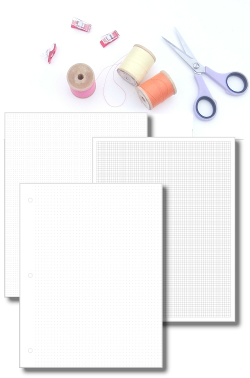Graph Paper Set {20+ pages}