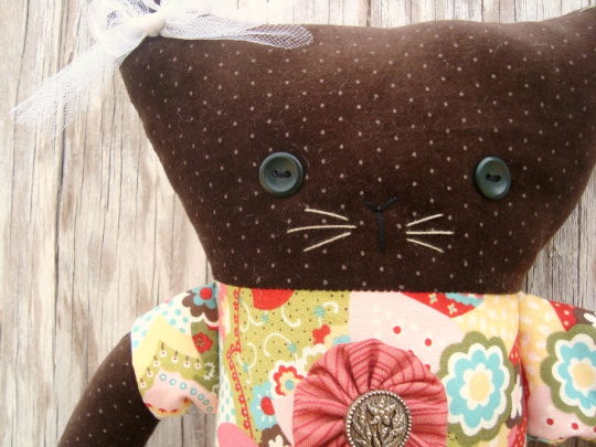 Kit Cat Plushie Pattern