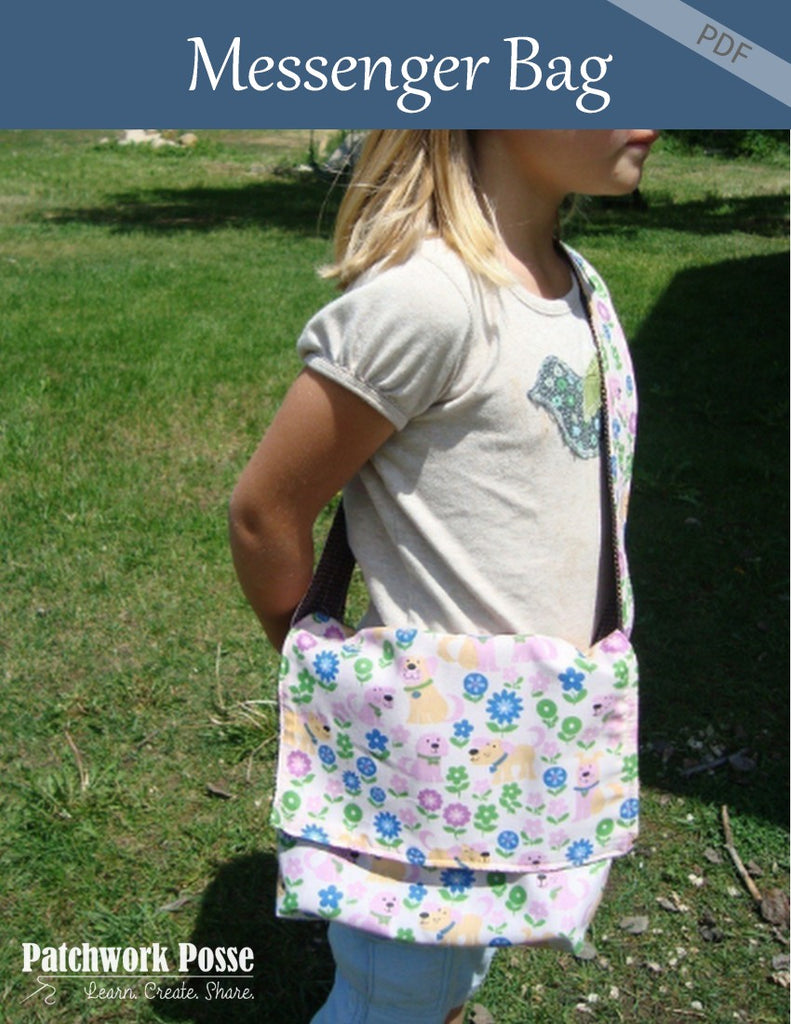 Kids Messenger Bag Pattern