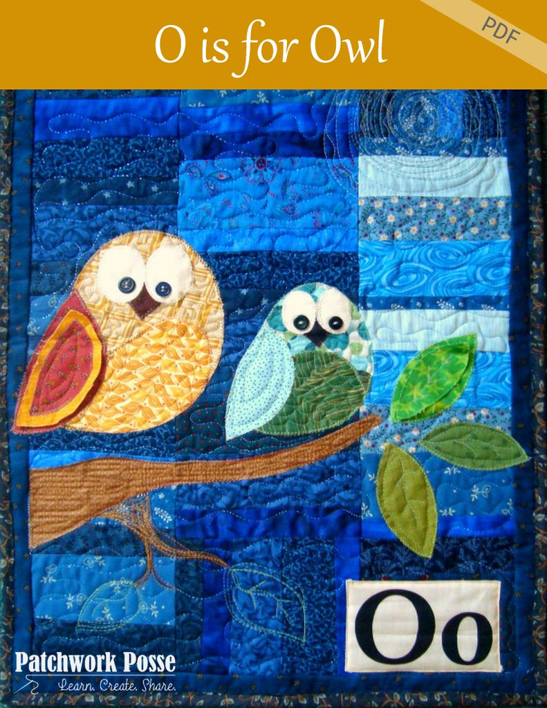'O' is for Owl Wallhanging