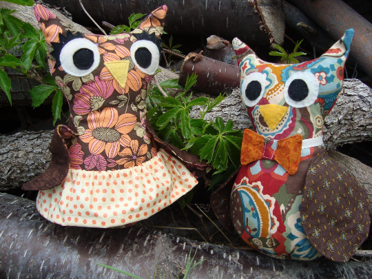 Wilma and Walter Owl