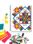 WHOLESALE - Patchwork Planner 2019