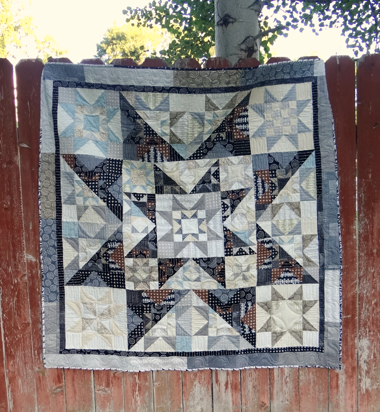 Full Pattern- Summer Solar Eclipse Quilt Along