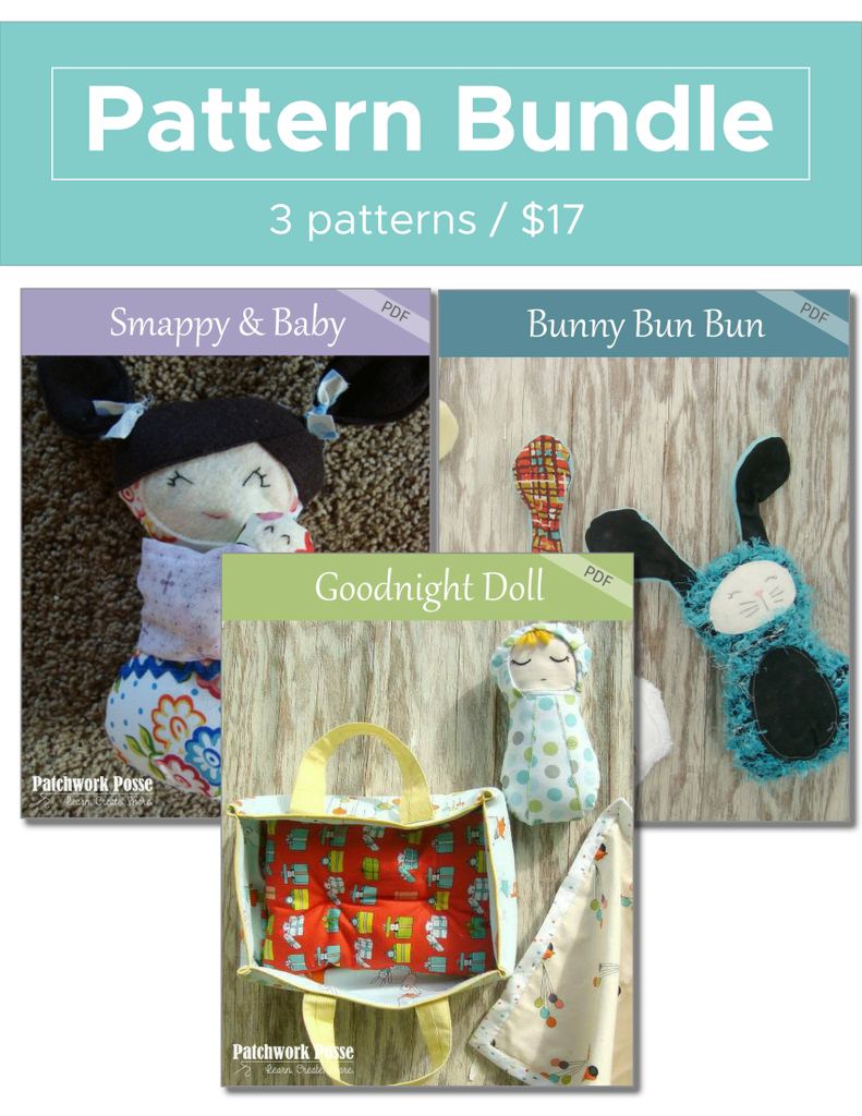 Smappy Baby, Bun Bun, Goodnight Pattern Bundle
