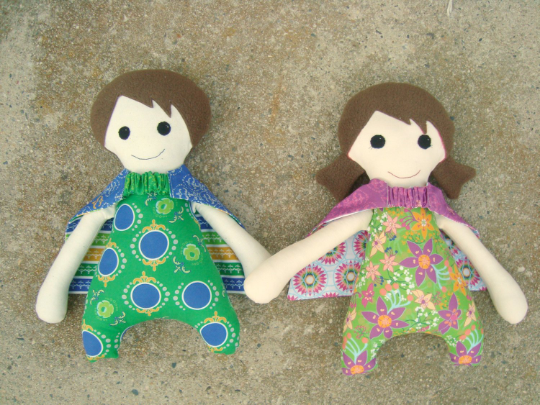 Super Hero Doll Pattern