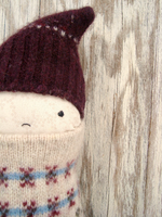 Felted Sweater Doll