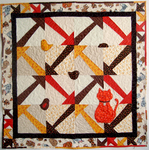 Tag Quilt & Cat Pattern