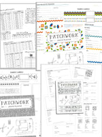 Patchwork Planner & Journal Bundle