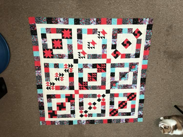Three's Company Quilt Pattern
