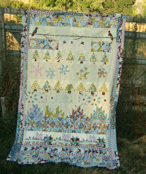 Round Robin Winter Wonderland Quilt Along