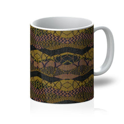 Crocodile Green Coffee Mug Homeware 11oz