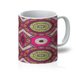 Modern Pink Coffee Mug Homeware 11oz