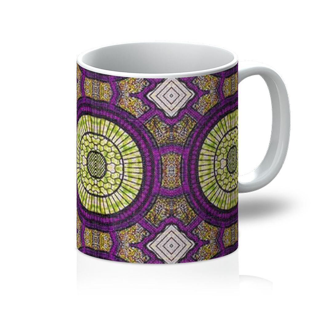 Modern Purple Coffee Mug Homeware 11oz