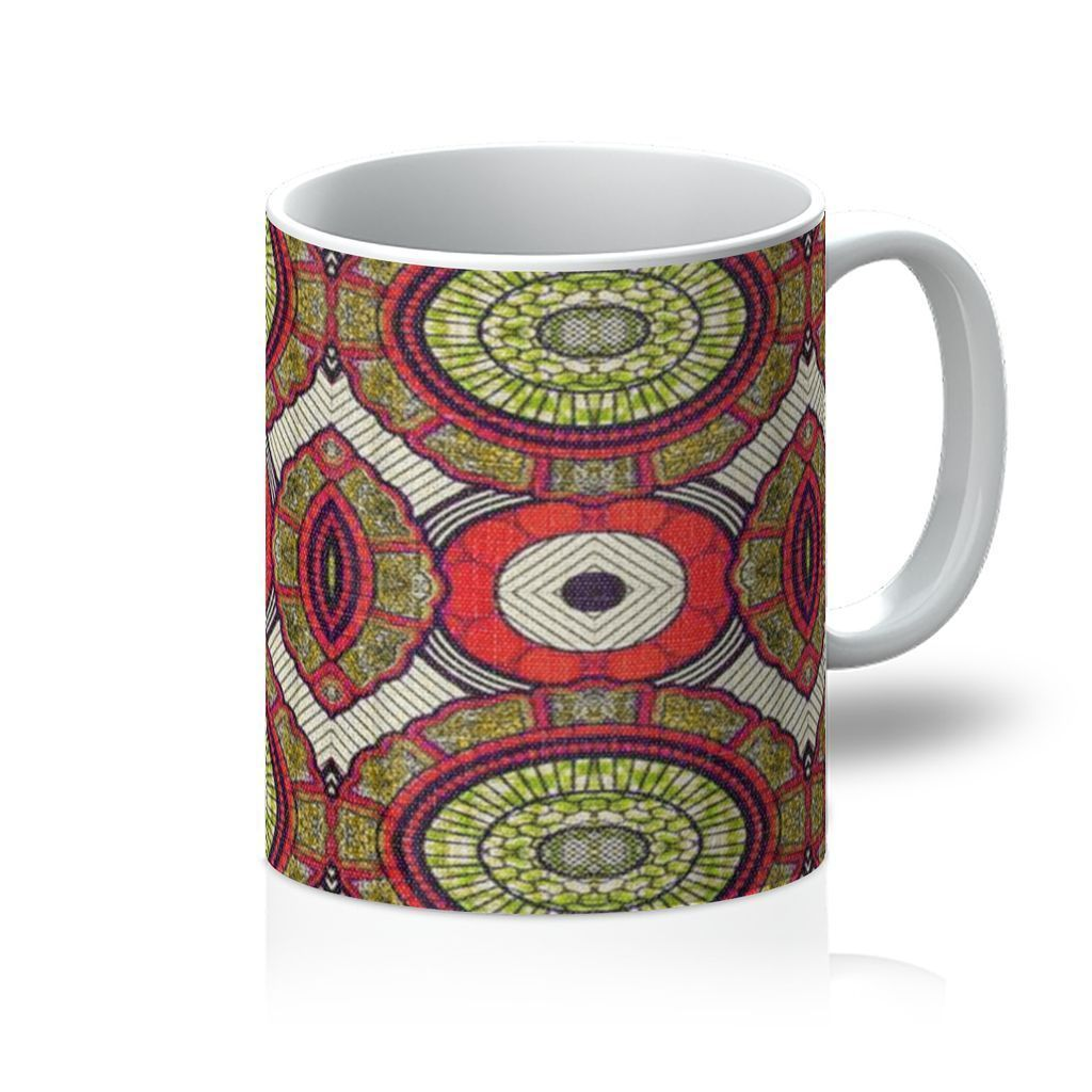 Modern Red Coffee Mug Homeware 11oz