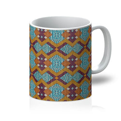 Purple Diamond Coffee Mug Homeware 11oz