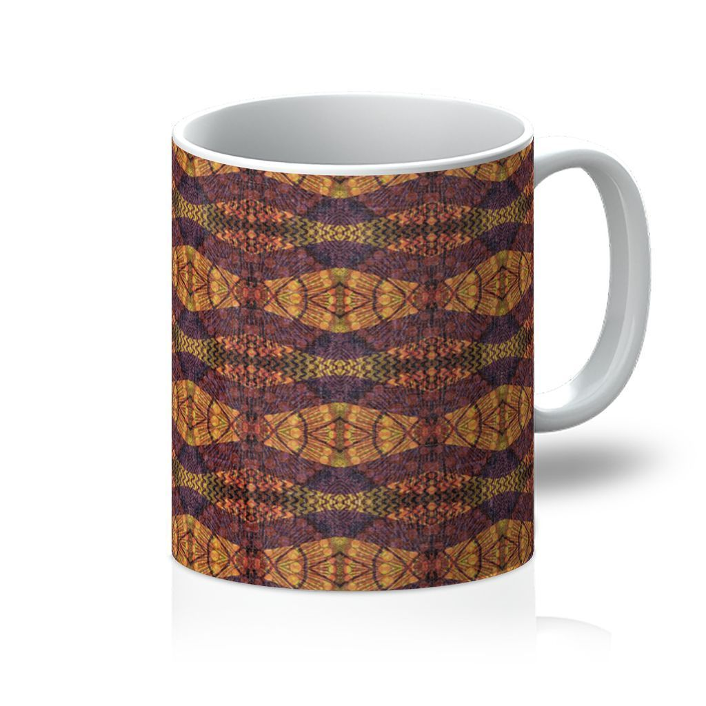 Purple Geo Coffee Mug Homeware 11oz
