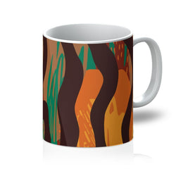 Safari Stripe Coffee Mug Homeware 11oz