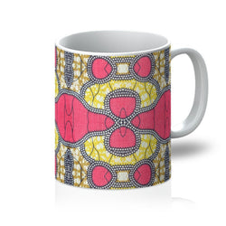 Traditional Pink Coffee Mug Homeware 11oz