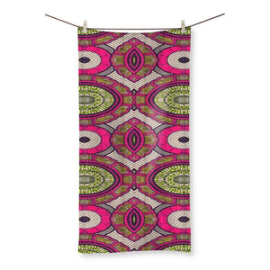 "Modern Pink Beach Towel Homeware 19.7""x39.4"""