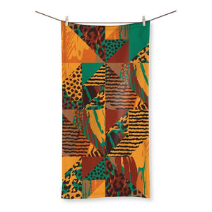 "Safari Beach Towel Homeware 19.7""x39.4"""