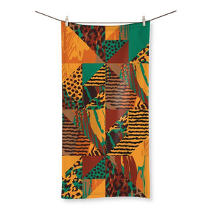 "Safari Beach Towel Homeware 27.5""x55.0"""