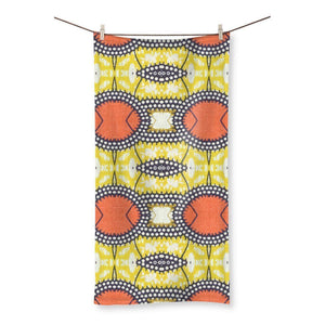 "Traditional Orange Beach Towel Homeware 27.5""x55.0"""