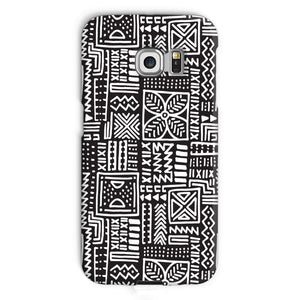 Luxury B&W- Flower Phone Case Phone & Tablet Cases Galaxy S6 Edge / Snap / Gloss