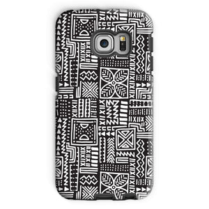 Luxury B&W- Flower Phone Case Phone & Tablet Cases Galaxy S6 Edge / Tough / Gloss