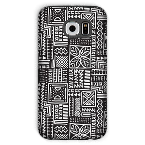 Luxury B&W- Flower Phone Case Phone & Tablet Cases Galaxy S6 / Tough / Gloss