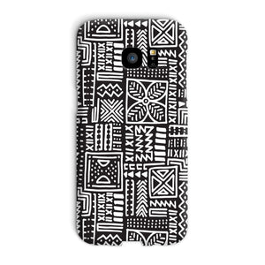 Luxury B&W- Flower Phone Case Phone & Tablet Cases Galaxy S7 Edge / Snap / Gloss