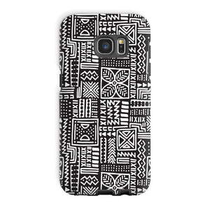 Luxury B&W- Flower Phone Case Phone & Tablet Cases Galaxy S7 Edge / Tough / Gloss