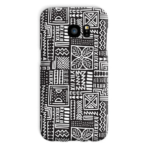 Luxury B&W- Flower Phone Case Phone & Tablet Cases Galaxy S7 / Snap / Gloss