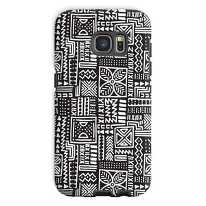 Luxury B&W- Flower Phone Case Phone & Tablet Cases Galaxy S7 / Tough / Gloss