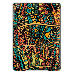 Orange Doodle Tablet Case Phone & Tablet Cases iPad Air