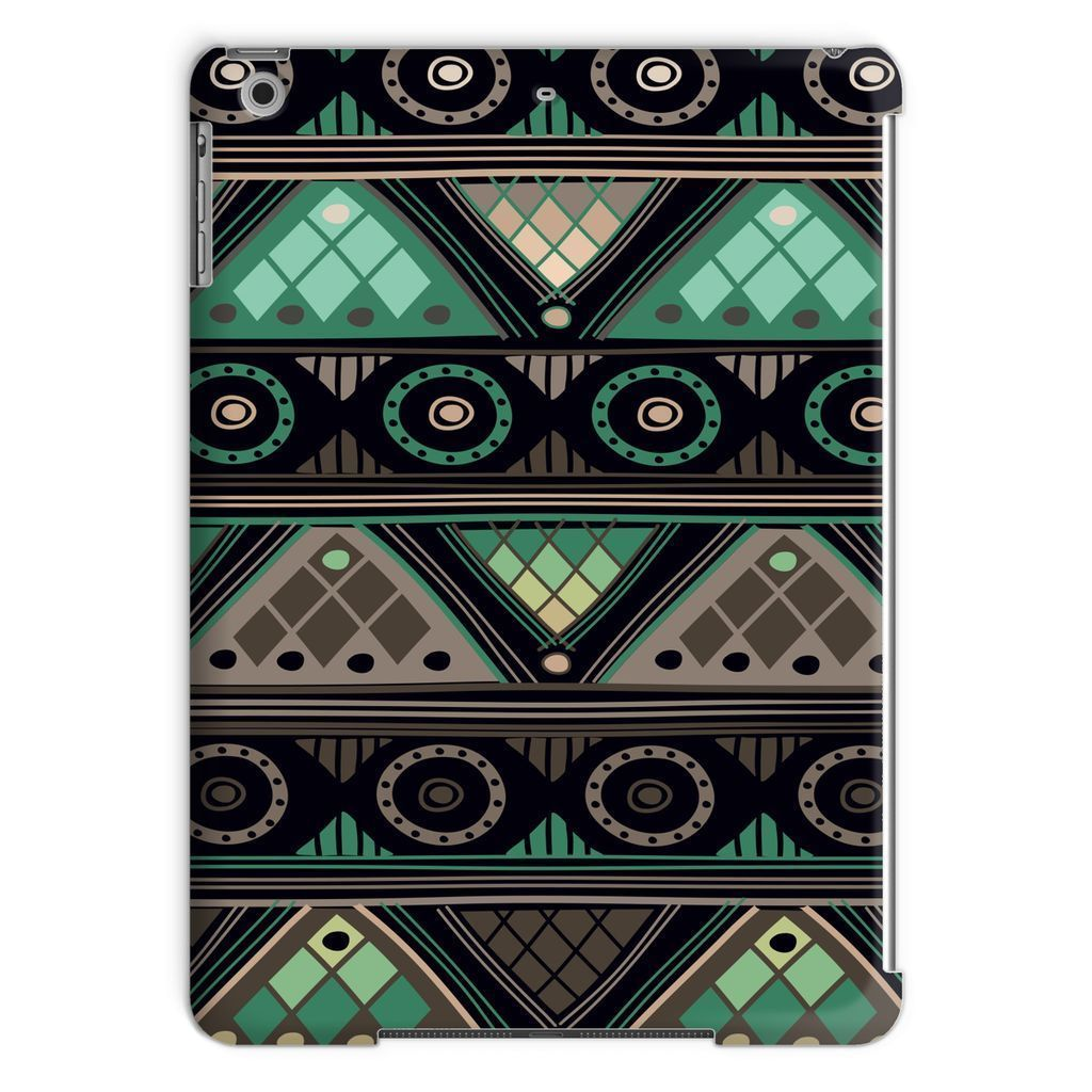 Green Mosaic Tablet Case Phone & Tablet Cases iPad Air