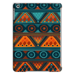Orange & Blue Mosaic Tablet Case Phone & Tablet Cases iPad Air