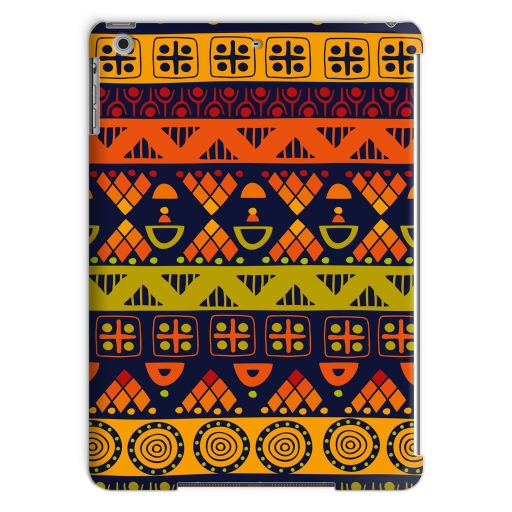 Orange & Yellow Tribal Tablet Case Phone & Tablet Cases iPad Air