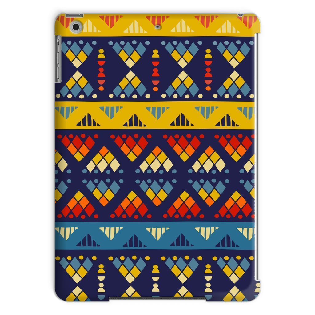 Yellow & Blue Mosaic Tablet Case Phone & Tablet Cases iPad Air