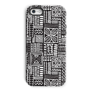Luxury B&W- Flower Phone Case Phone & Tablet Cases iPhone 5/5s / Tough / Gloss