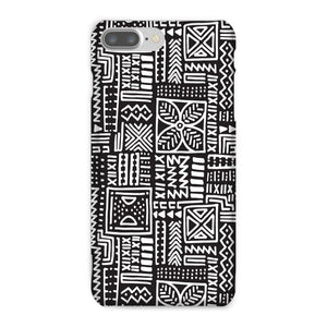 Luxury B&W- Flower Phone Case Phone & Tablet Cases iPhone 7 Plus / Snap / Gloss
