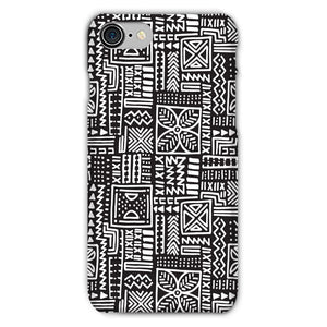 Luxury B&W- Flower Phone Case Phone & Tablet Cases iPhone 7 / Snap / Gloss