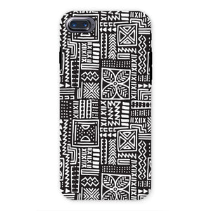 Luxury B&W- Flower Phone Case Phone & Tablet Cases iPhone 7 / Tough / Gloss