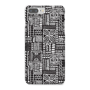 Luxury B&W- Flower Phone Case Phone & Tablet Cases iPhone 8 Plus / Snap / Gloss