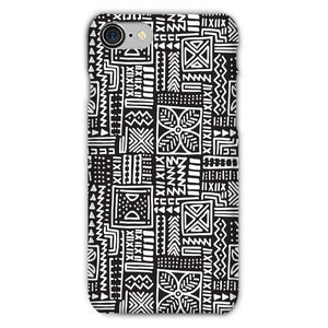 Luxury B&W- Flower Phone Case Phone & Tablet Cases iPhone 8 / Snap / Gloss