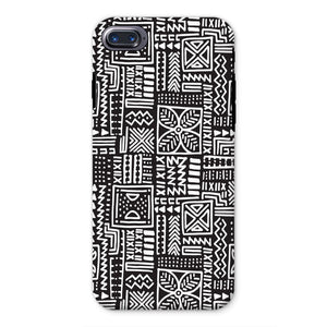 Luxury B&W- Flower Phone Case Phone & Tablet Cases iPhone 8 / Tough / Gloss