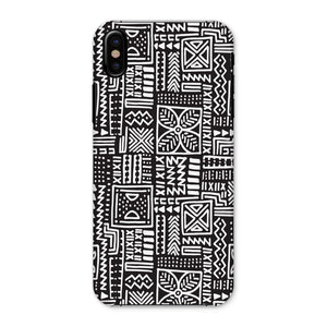 Luxury B&W- Flower Phone Case Phone & Tablet Cases iPhone X / Snap / Gloss