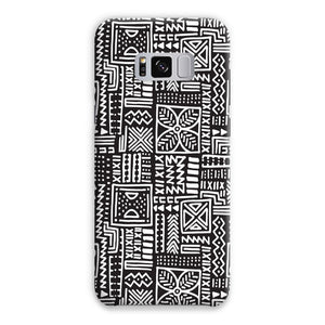 Luxury B&W- Flower Phone Case Phone & Tablet Cases Samsung S8 Plus / Snap / Gloss