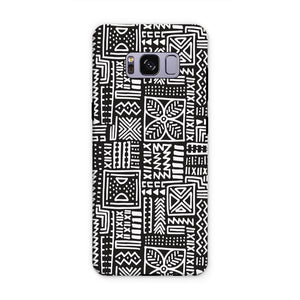 Luxury B&W- Flower Phone Case Phone & Tablet Cases Samsung S8 Plus / Tough / Gloss