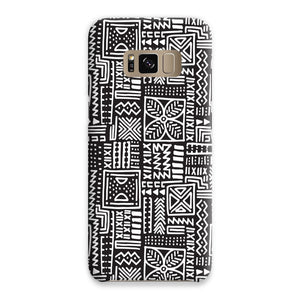 Luxury B&W- Flower Phone Case Phone & Tablet Cases Samsung S8 / Snap / Gloss